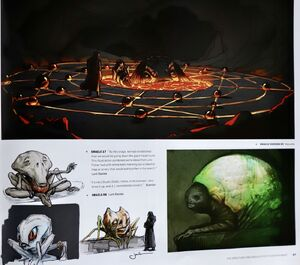 The Oracle concept art