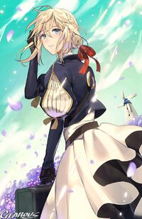 Violet evergarden violet evergarden drawn by gearous sample-30740aafab4d9a827a5d939e3fb42715