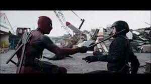 Deadpool 2016 Scrapyard Fight Scene