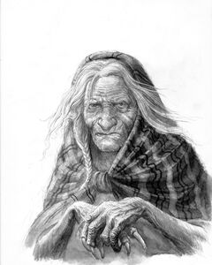 Old hag by turnermohan-d61kjwd
