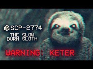 SCP-2774- The Slow Burn Sloth - Keter - Memetic SCP