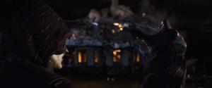 DBE Piccolo destroys house