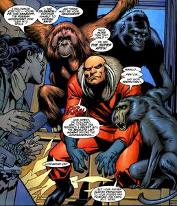 Ivan Kragoff (Earth-616) a mindless minion to the Super-Apes