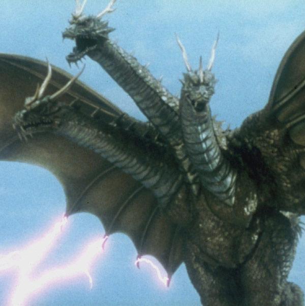 King Ghidorah (Rebirth of Mothra III)