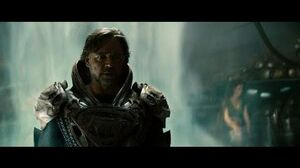 Man of Steel - Jor-El vs Zod (2013)