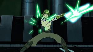 Skywalker blaster deflects