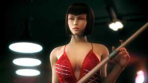 Anna in her Tekken 6 ending