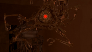Fabrication Machine alerting Spider Bots to get 7 and 9