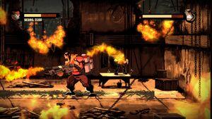 Inferno Using Flamethrower 1