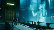 President Shinra Hologram in FFVII Remake