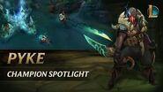 Pyke Champion Spotlight Gameplay - League of Legends