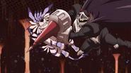 SkullKnightmon vs Garurumon