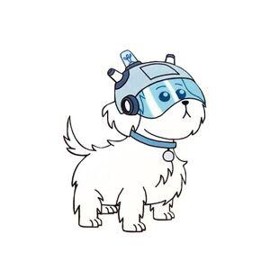 Snowball the Dog