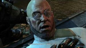 Batman Arkham City - Hugo Strange & Ra's al Ghul - Cutscene PS3