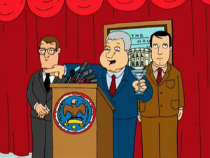 Bill Clinton's First Appearance