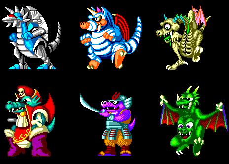 Dragons (Wonder Boy)