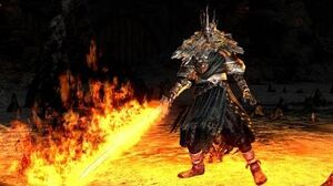 Dark Souls Gwyn, Lord of Cinder Final Boss Fight and Ending (4K 60fps)