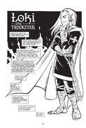 Loki from Erik Evensen's Gods of Asgard