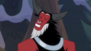 Lord Tirek pretending to be surprised S9E8