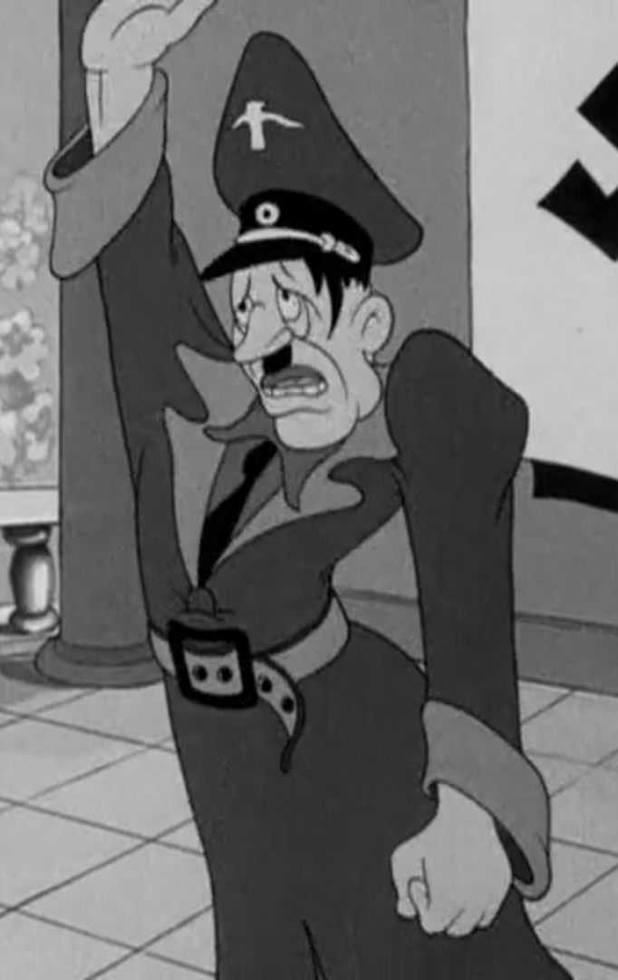 Adolf Hitler (Popeye the Sailor Man)