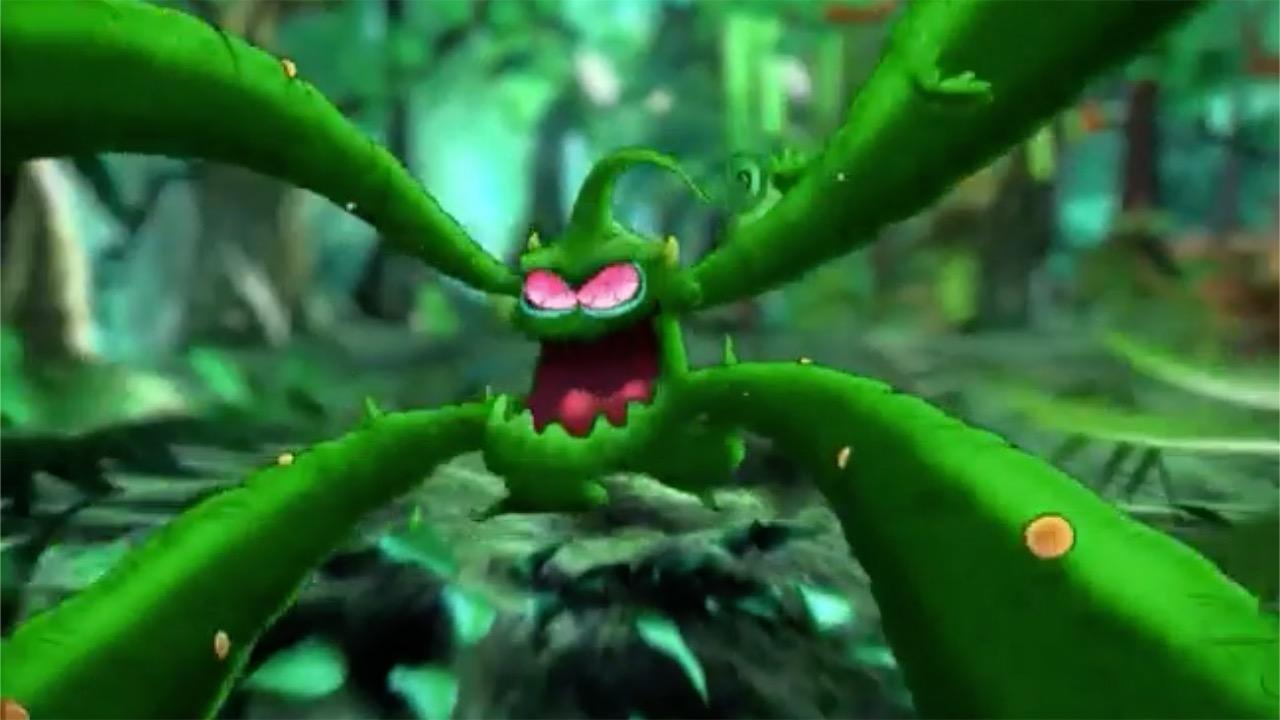 Alien Fruit Monster