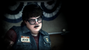 Kenny Dermot as the Envious Psychopath
