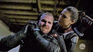 Arrow 7x19 Oliver Queen vs Emiko Queen Fight Scene HD