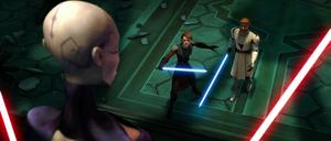 Asajj Ventress Jedi observe