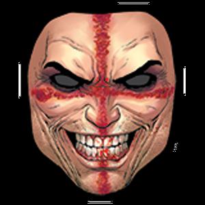 Crossed face