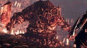 Dark Souls 2 The Rotten Boss Fight (4K 60fps)