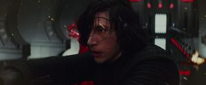 Kylo looks for Rey