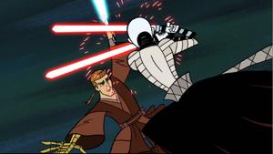 Anakin aerial duel