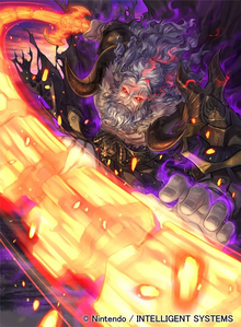 Artwork of Nemesis in Fire Emblem 0 (Cipher)