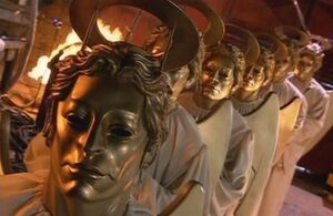 Masked Heavenly Hosts