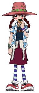 Miss Goldenweek Anime Concept Art