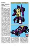 Ruckus Transformers Universe profile
