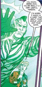 Zebra-Man Prime Earth 01