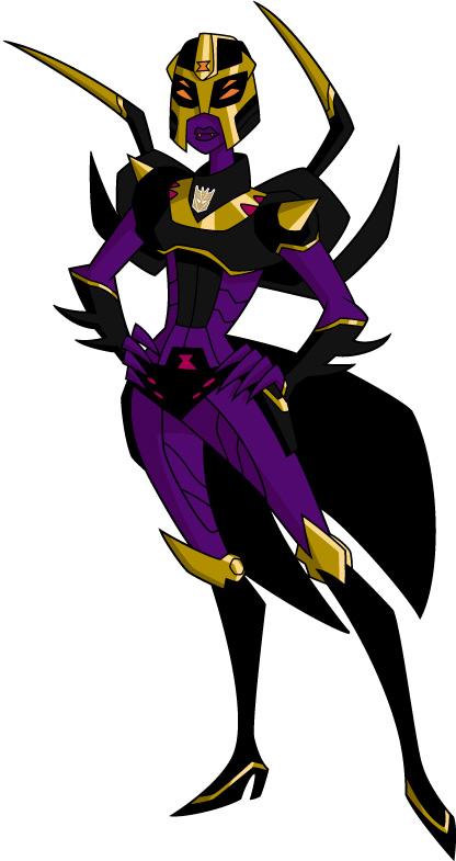 Blackarachnia (Transformers Animated)