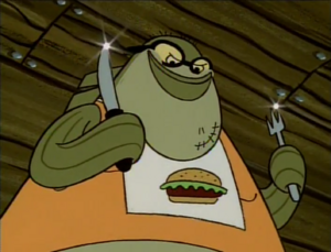 Bubble Bass ready to eat