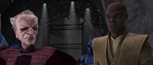 Chancellor Palpatine Master Windu