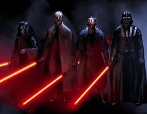 Dark Side of the Force