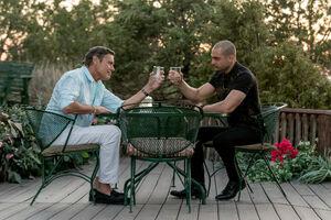 Eladio with Nacho Varga