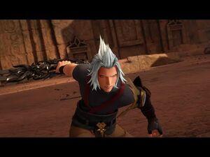 Kingdom Hearts 3- Terra-Xehanort and Vanitas Boss Fight -22