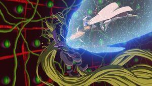 Omnimon kills Mega Argomon