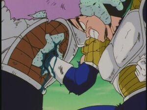 Vegeta vs Zarbon! The End -Japanese Episode 57-
