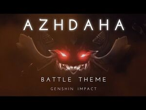 Azhdaha Battle Theme -All Phases- - Genshin Impact OST