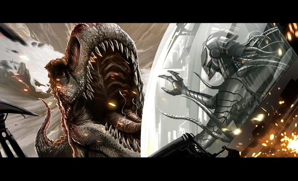 Aliens (Dinosaurs vs Aliens)