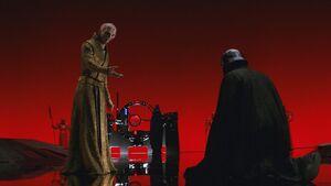 Snoke and Ren TLJ