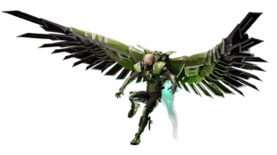 Vulture from MSM render