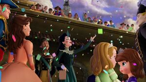 Elena and the Secret of Avalor cheering crowd